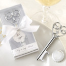 130x130 sq 1445010093605 simply elegant key to my heart bottle opener favor