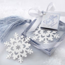 130x130 sq 1445010100398 snowflake bookmark elegant winter favors 15