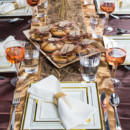 130x130 sq 1418053987776 a golden harvest tablescape thanksgiving table ide