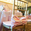 130x130 sq 1428445479994 pink chair bow 2