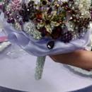 130x130 sq 1428445782517 royal purple brooch bouquet2