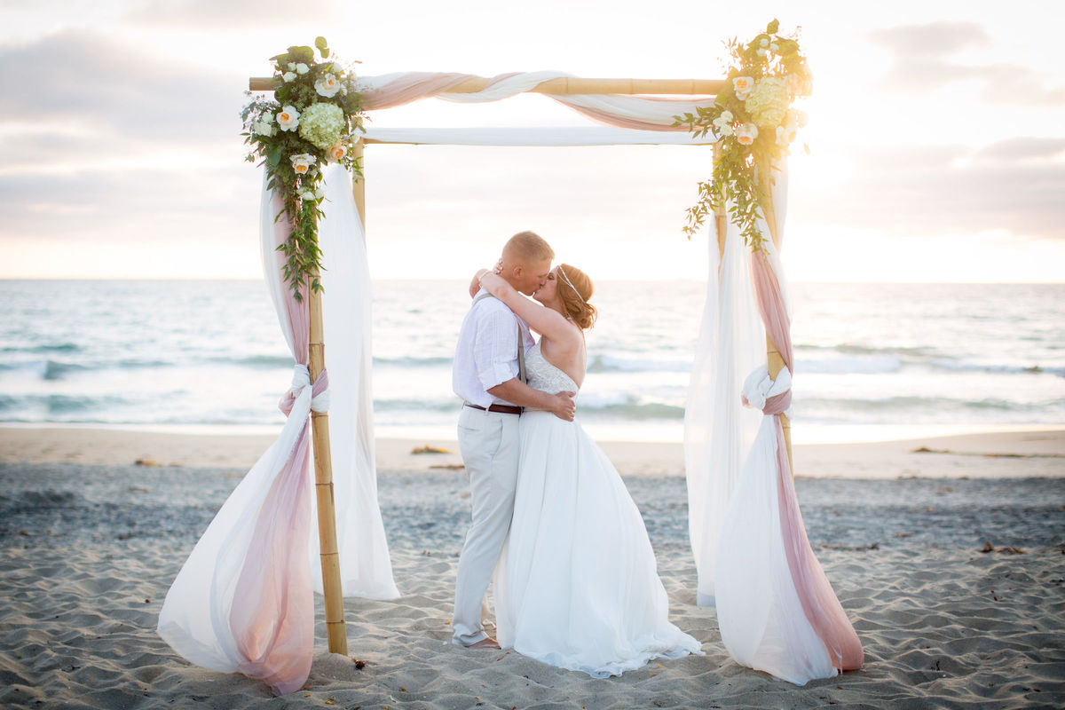 Dream beach wedding planning imperial beach ca for Wedding dresses palm beach