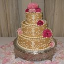 130x130 sq 1309226323320 weddingcakeintaupe