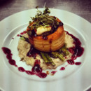130x130 sq 1487786679107 wild mushroom bouchee with asparagus and risotto