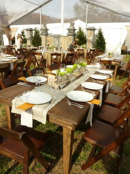 1365470440752 Farm Tables With Fruitwood Folding Chairs Nashville wedding  rental Classic Party Rentals Nashville TN. Lease To Own Accent Chairs Nashville   louisvuittonukonlinestore com