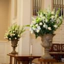 130x130 sq 1417621630211 8 perkins chapel wedding white  green altar flower