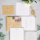 130x130 sq 1467610653649 1 green gray and kraft invitations