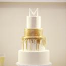 130x130 sq 1473829467763 76 gold  white wedding cake