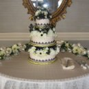130x130 sq 1238376527921 blacklaceweddingcake
