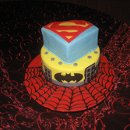 130x130 sq 1296158680096 superherosgroomscake