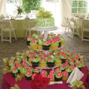 130x130 sq 1296158832409 greencupcakeswpinklilywedding