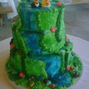 130x130 sq 1296160214190 waterfallweddingcake