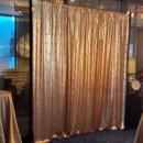130x130 sq 1453941801052 gold sequin backdrop   setup