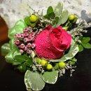 130x130 sq 1308710764131 redrosecorsagewwaxflowerberry