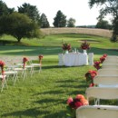 130x130 sq 1376064817484 ceremony hot pink  tangerine wedding