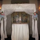 130x130 sq 1376064847809 square arch with ivory lace