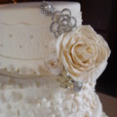130x130 sq 1388795008630 ruffles and lace wedding cake