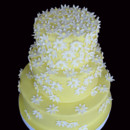 130x130 sq 1388795807168 daisy wedding cake