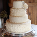 130x130 sq 1388795908728 ruffles and lace wedding cak
