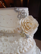 220x220 1388795008630 ruffles and lace wedding cake