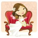 130x130 sq 1236553529910 bride cartoon