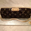 Louis Vuitton Purse cake made to look like LV EVA clutch style with orignial LV logo. This cake serves 16 and the cake is red velvet with cream cheese. The perfect cake for the fashionista with a girlie birthday :)