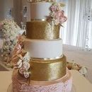 130x130 sq 1526511462 961e98fae0a75543 gold blush wedding cake