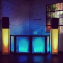 130x130 sq 1402361499051 light up booth with light up speaker stands