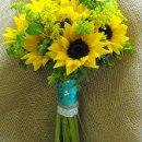 130x130 sq 1318531269099 sunflowerbridalbouquet