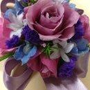 130x130 sq 1342122468546 lavenderandpurplecorsage2
