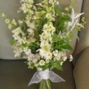 130x130 sq 1374887055328 white wildflower bouquet
