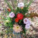 130x130 sq 1395846370577 orange and purple ceremony flowers lr