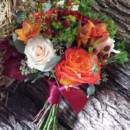 130x130 sq 1395847854830 orange and peach berry bouque