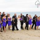 130x130 sq 1453576282997 blog31 bridal party on the beach purple bridesmaid