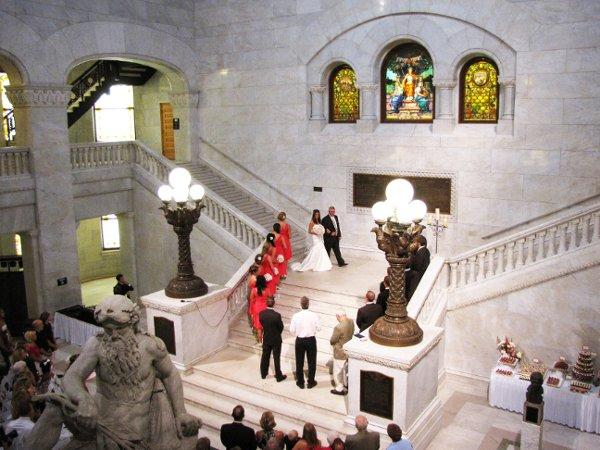 Minnesota Wedding Ceremony Locations: Historic Minneapolis City Hall & Hennepin County