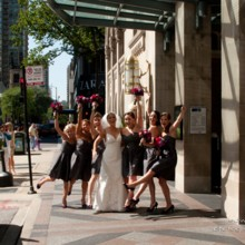 220x220 sq 1491503026874 bridal party front of hotel