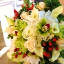 130x130 sq 1381419548392 green cymbidium ivory rose red hypericums