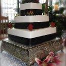 130x130 sq 1334856137171 cakeblackredwhiteimg0982