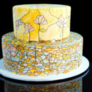 130x130 sq 1456878872518 stained glass cake 5