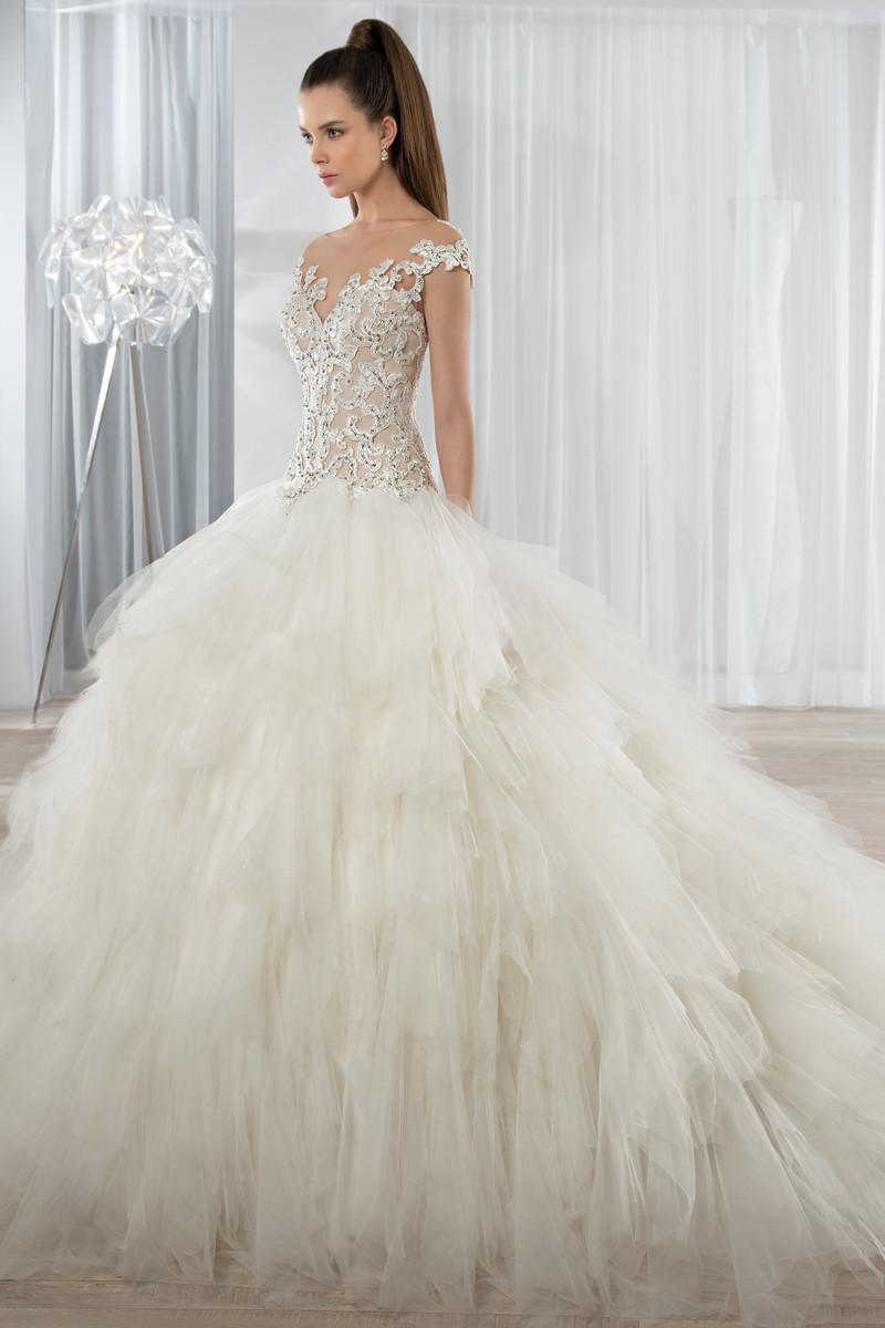 Demetrios wedding dresses photos by demetrios image 49 for Low waist wedding dress