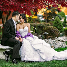 220x220 sq 1421263394960 bride groom garden2