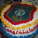 25-Year Retirement Celebration Cake