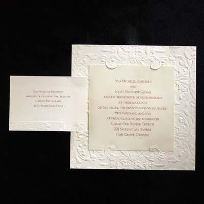photo 6 of Stocker Wedding Invitation