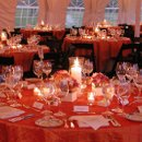 small budget tented reception