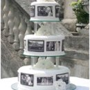 130x130 sq 1238782005390 blackandwhiteweddingcake