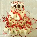 130x130 sq 1239112882631 205heartcupcakewedding