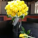 130x130 sq 1366056496393 yellow rose bling bouquet