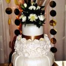 130x130 sq 1347766423234 fall2012jaceyandjessicasweddingcake