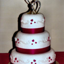 130x130 sq 1373214869241 summer 2013   jimmie and rachels wedding cake