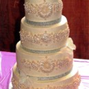 130x130 sq 1426463705556 spring 2015   eric and tanias wedding cake